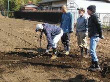 平成24年3月21日 菜園インストラクター養成講座2012応用実習