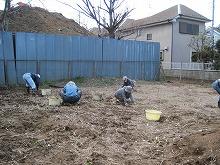 平成24年3月21日 菜園インストラクター養成講座2012 初級前期実習3回