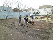 平成24年3月7日 菜園インストラクター養成講座2012 初級前期実習2回