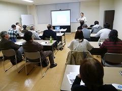 平成23年4月9日 菜園インストラクター養成講座教室講義