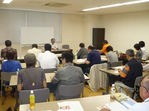平成22年10月16日菜園インストラクター養成講座前期教室講義