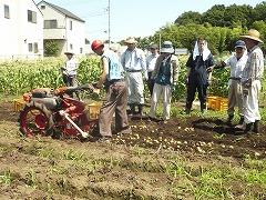 平成23年6月29日菜園インストラクター養成講座実習11回