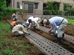 平成23年7月27日菜園インストラクター養成講座実習14回