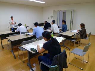 平成22年10月3日菜園インストラクター養成講座前期教室講義