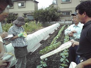 平成22年9月15日菜園インストラクター養成講座前期実習2回