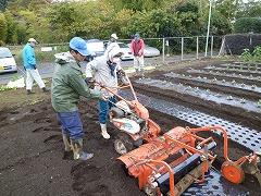 平成22年11月17日菜園インストラクター養成講座前期実習7回