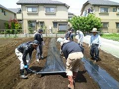 平成23年5月4日 菜園インストラクター養成講座実習6回